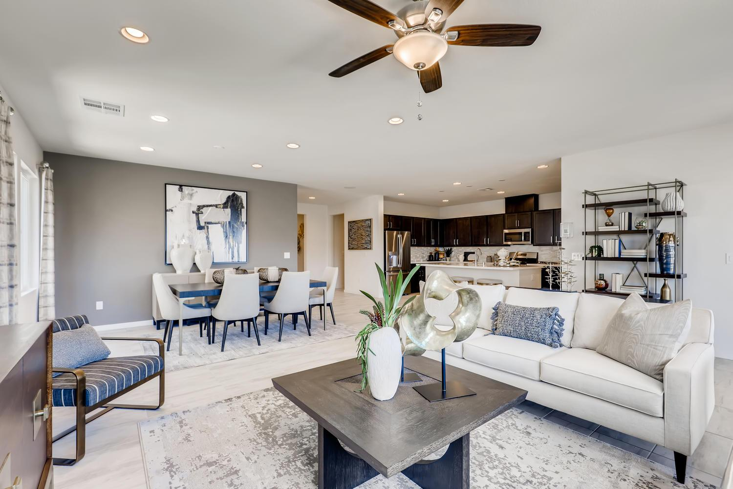 Living Area featured in the 50 - Lavender By Taylor Morrison in Las Vegas, NV