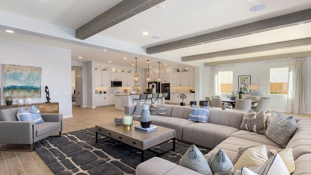Living Area featured in the Plan 55-RM2 By Taylor Morrison in Phoenix-Mesa, AZ