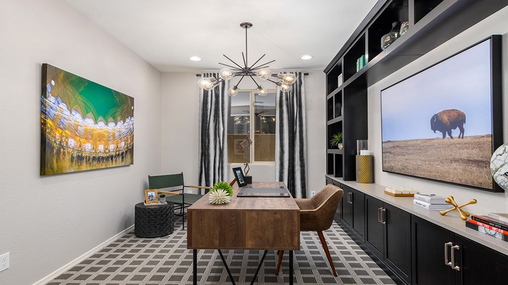 Living Area featured in the Plan 55-RMRV2 By Taylor Morrison in Phoenix-Mesa, AZ