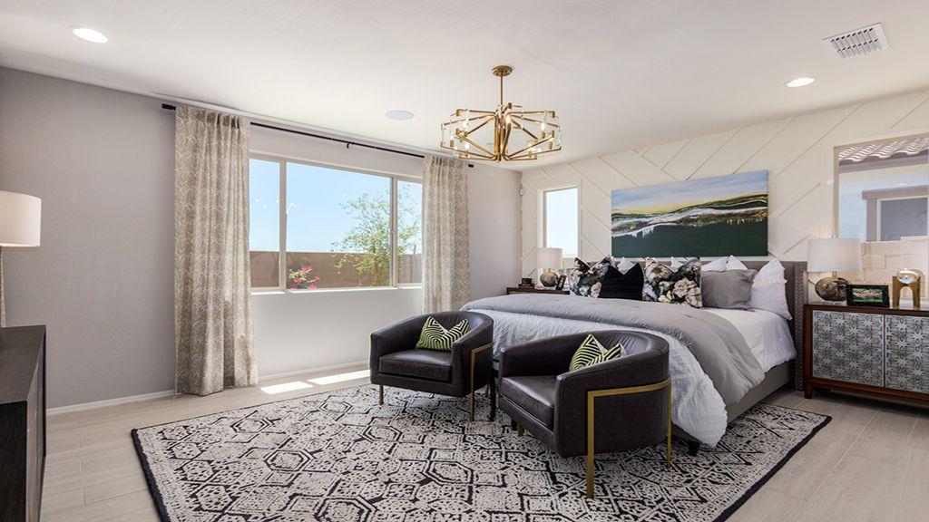 Bedroom featured in the Plan 55-RMRV2 By Taylor Morrison in Phoenix-Mesa, AZ