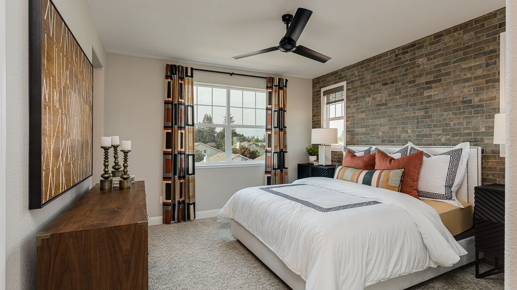 Bedroom featured in the Residence 5 Pear Tree By Taylor Morrison in Vallejo-Napa, CA