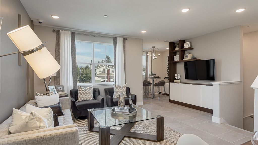 Living Area featured in the Residence 4 Pear Tree By Taylor Morrison in Vallejo-Napa, CA