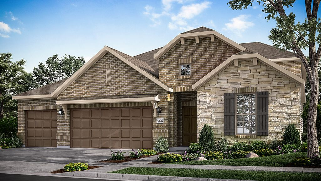 Exterior featured in the Alabaster By Taylor Morrison in Dallas, TX