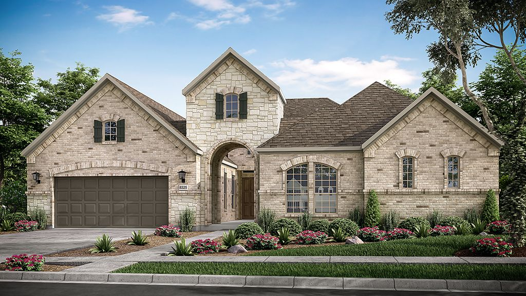 Exterior featured in the Courtney By Taylor Morrison in Fort Worth, TX