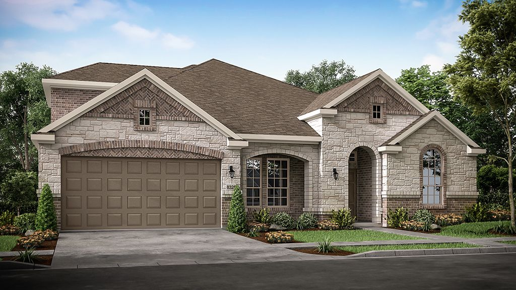 Exterior featured in the Emerald By Taylor Morrison in Dallas, TX