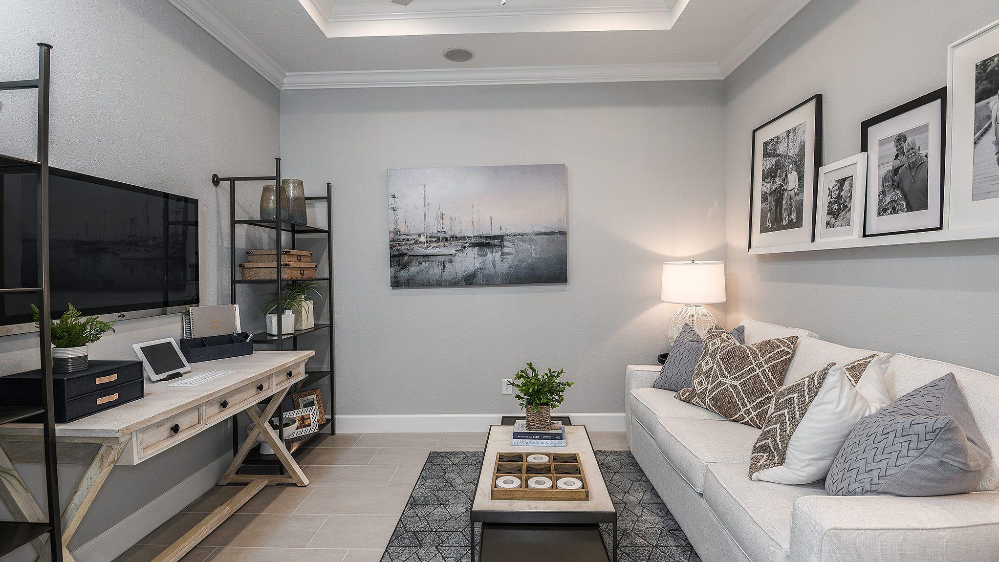 Living Area featured in the Ibis Esplanade Plan By Taylor Morrison in Sarasota-Bradenton, FL