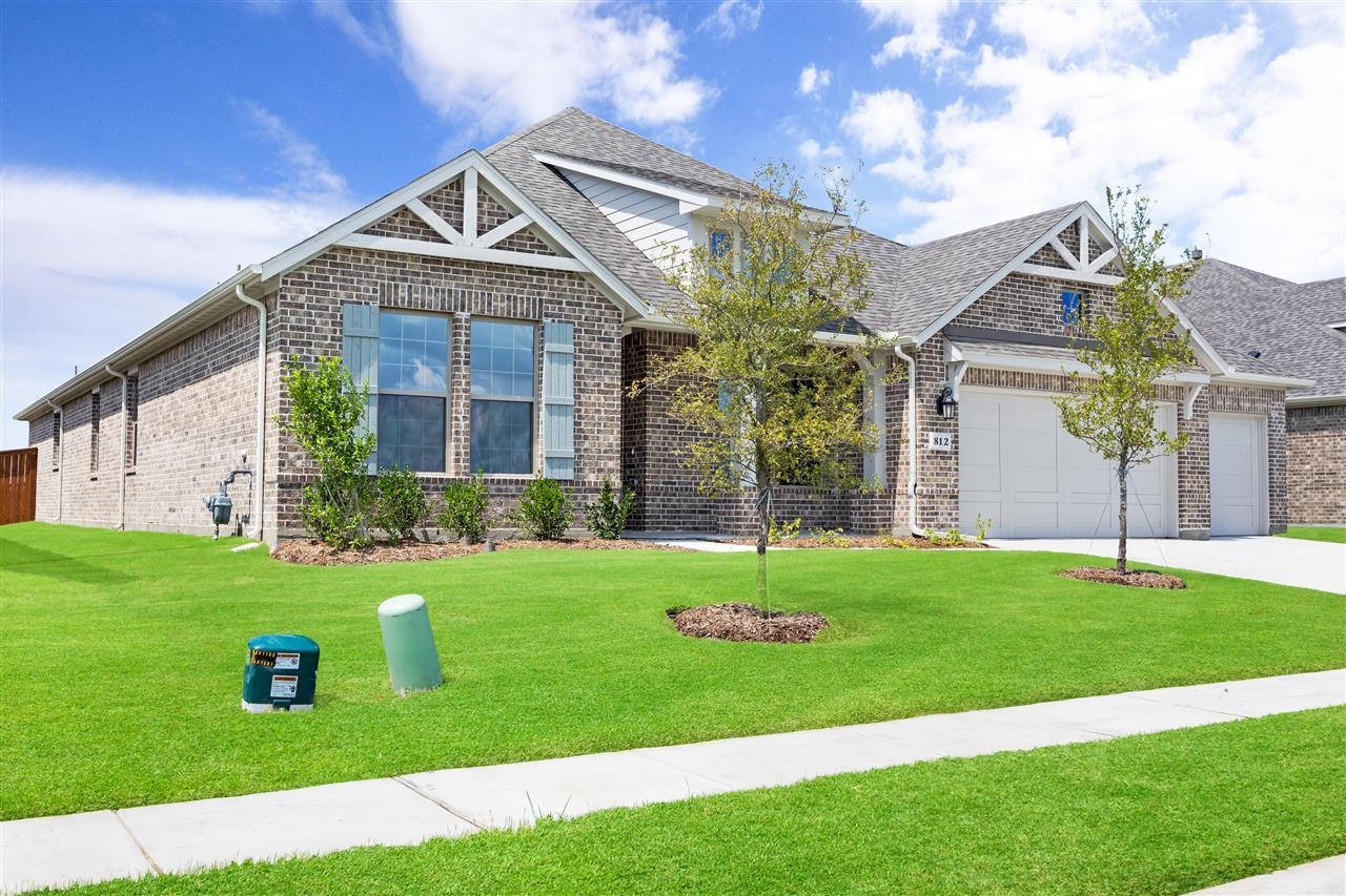 Exterior featured in the Jade Plan By Taylor Morrison in Dallas, TX