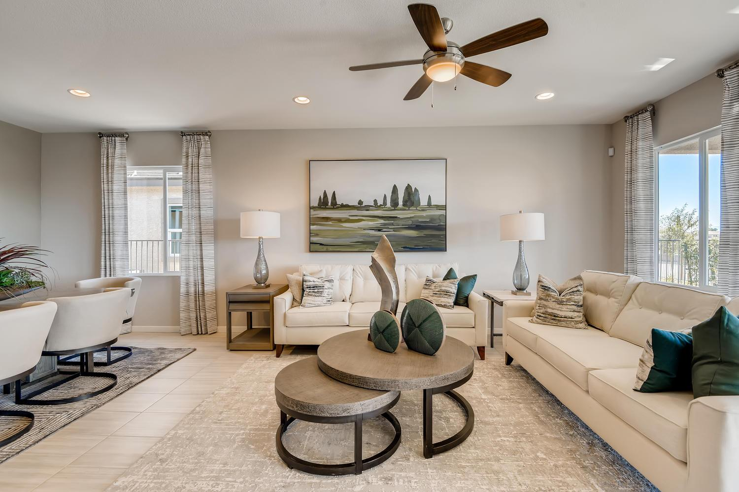 Living Area featured in the 40 - Hydrangea By Taylor Morrison in Las Vegas, NV