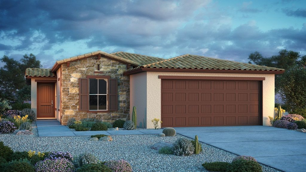 Exterior featured in the Aster By Taylor Morrison in Phoenix-Mesa, AZ