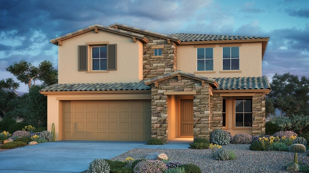Exterior featured in the Indigo By Taylor Morrison in Phoenix-Mesa, AZ