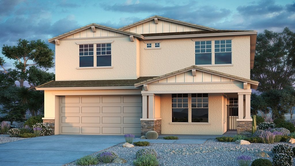Exterior featured in the Jasmine By Taylor Morrison in Phoenix-Mesa, AZ