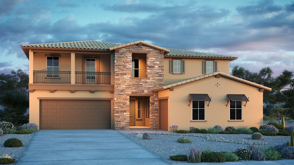 Exterior featured in the Cottonwood By Taylor Morrison in Phoenix-Mesa, AZ
