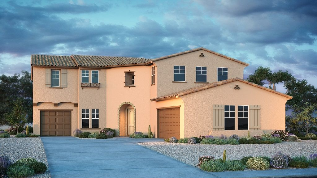 Exterior featured in the Hampton By Taylor Morrison in Phoenix-Mesa, AZ