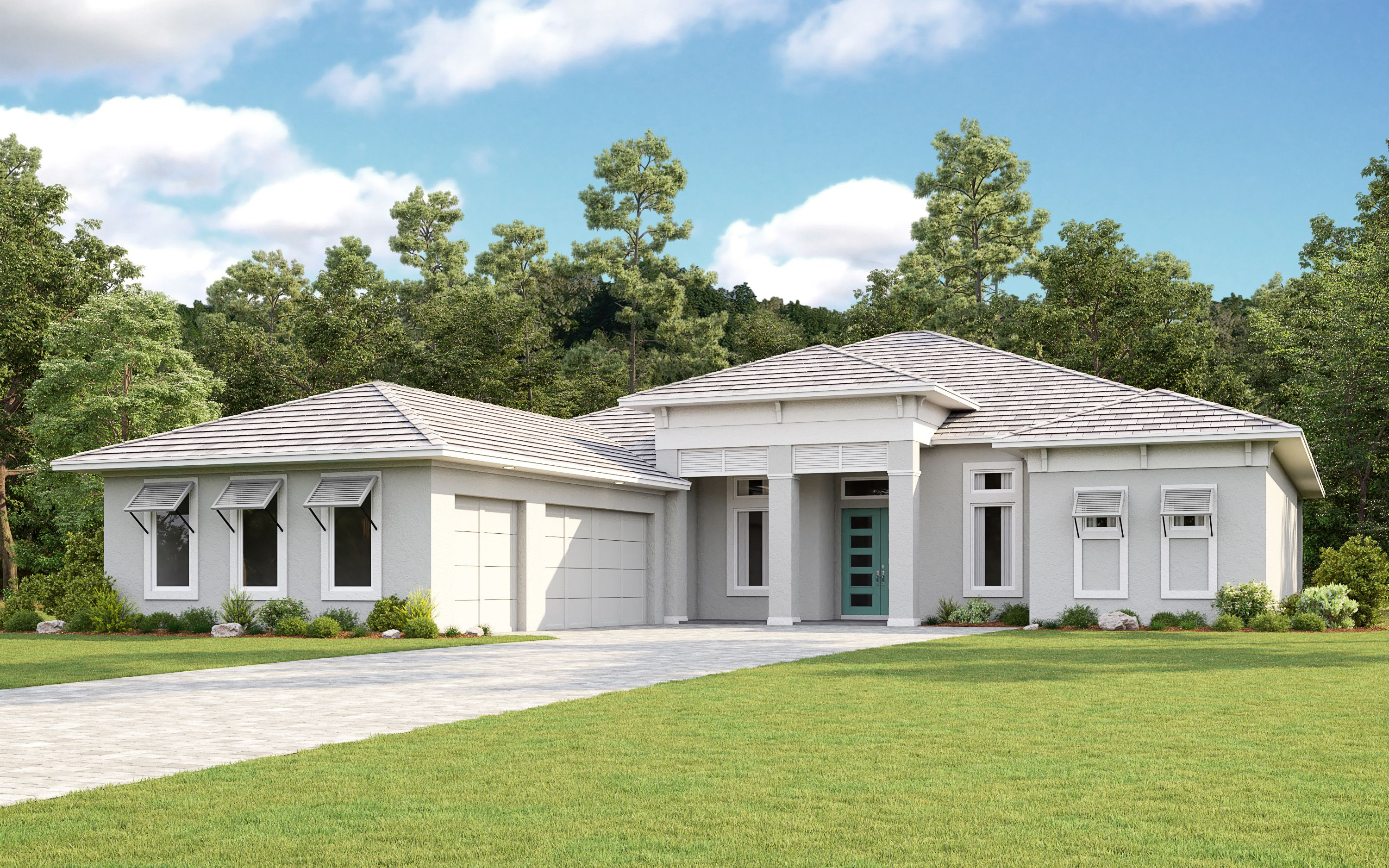 Exterior featured in the Beacon By Taylor Morrison in Tampa-St. Petersburg, FL