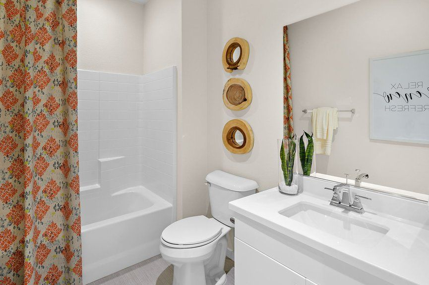 Bathroom featured in the Onyx Plan 1 By Taylor Morrison in Las Vegas, NV
