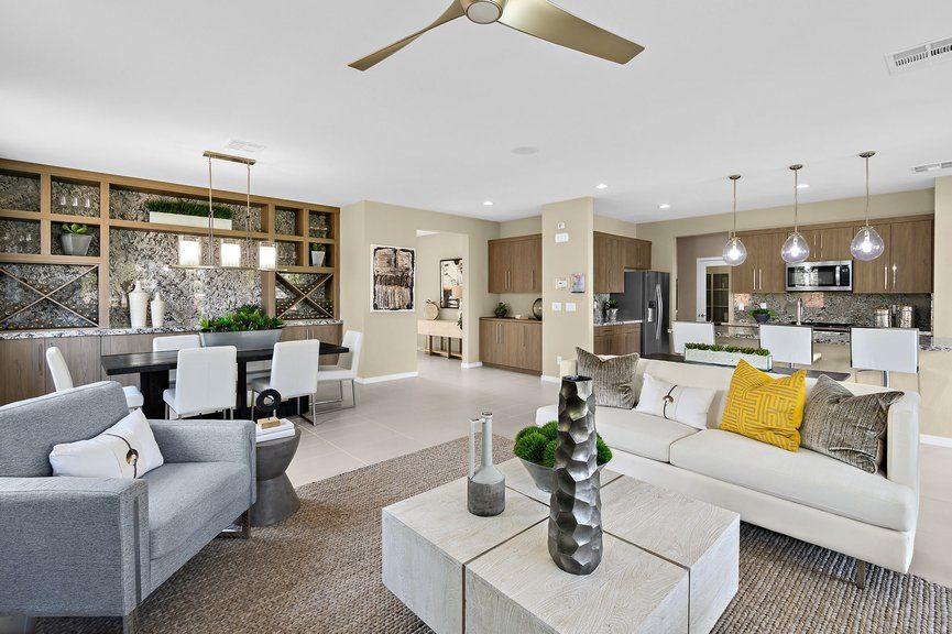 Living Area featured in the Onyx Plan 2 By Taylor Morrison in Las Vegas, NV