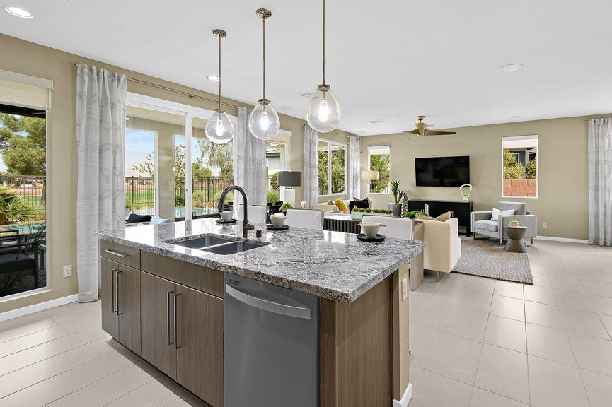 Kitchen featured in the Onyx Plan 2 By Taylor Morrison in Las Vegas, NV