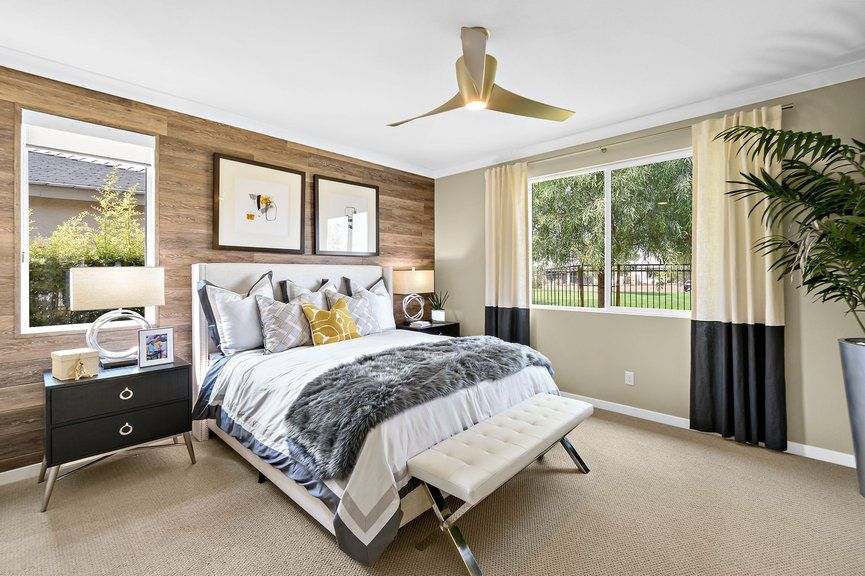 Bedroom featured in the Onyx Plan 2 By Taylor Morrison in Las Vegas, NV