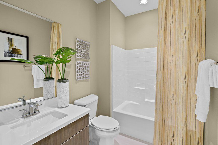 Bathroom featured in the Onyx Plan 2 By Taylor Morrison in Las Vegas, NV