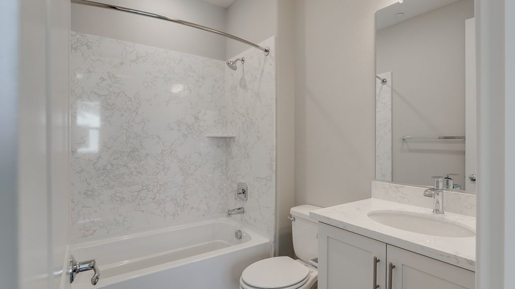 Bathroom featured in the Condo Plan 1 By Taylor Morrison in San Jose, CA