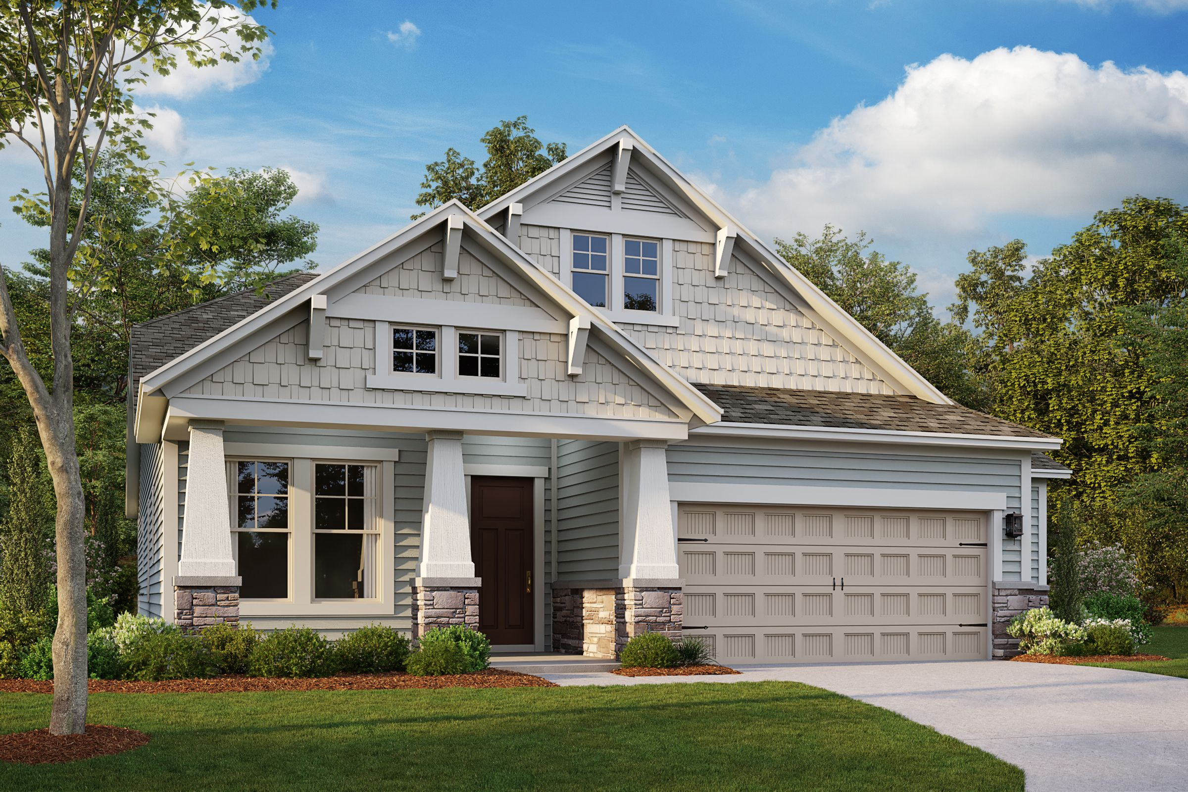 Exterior featured in the Salinger By Taylor Morrison in Raleigh-Durham-Chapel Hill, NC