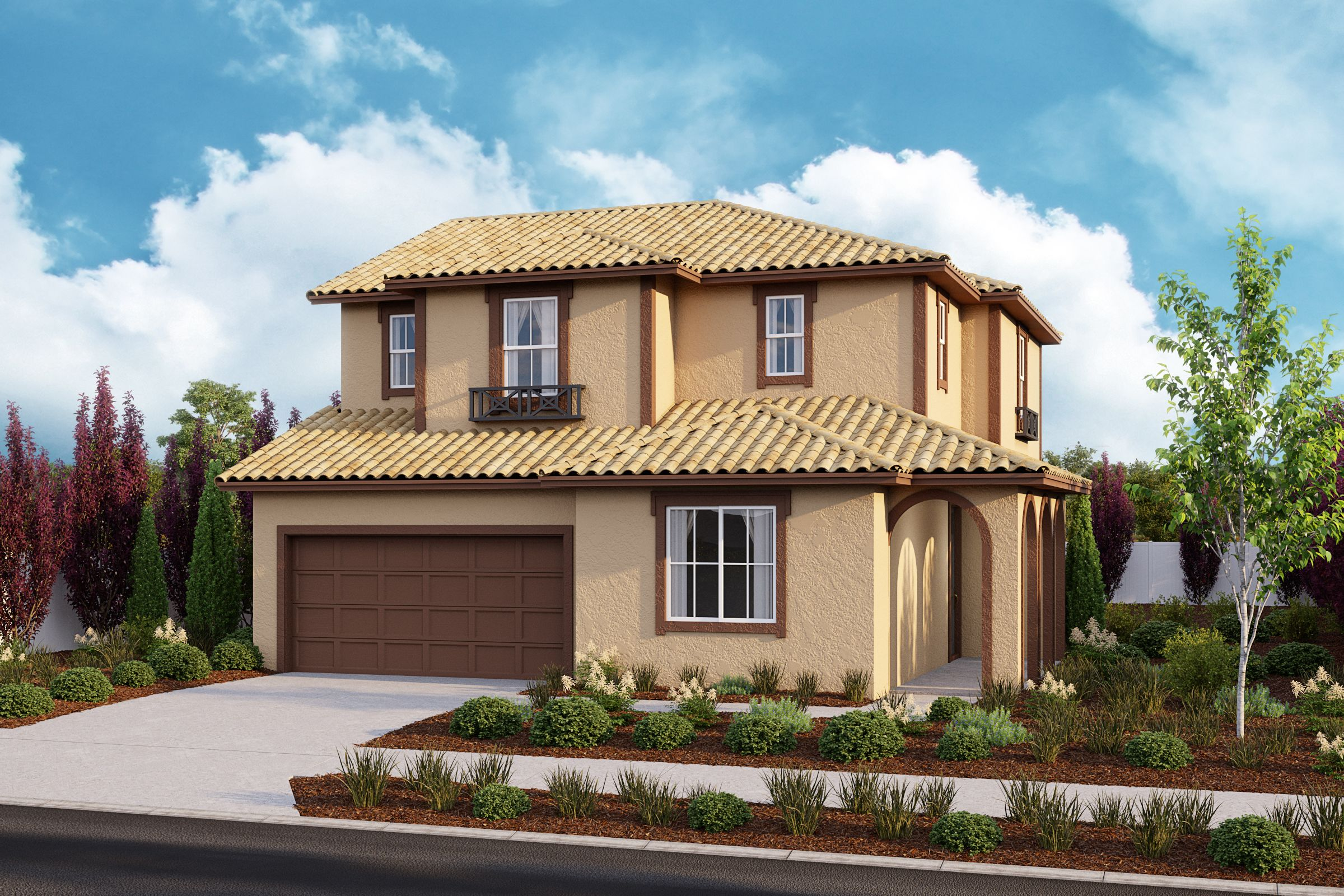 Exterior featured in the Residence 5 By Taylor Morrison in Vallejo-Napa, CA