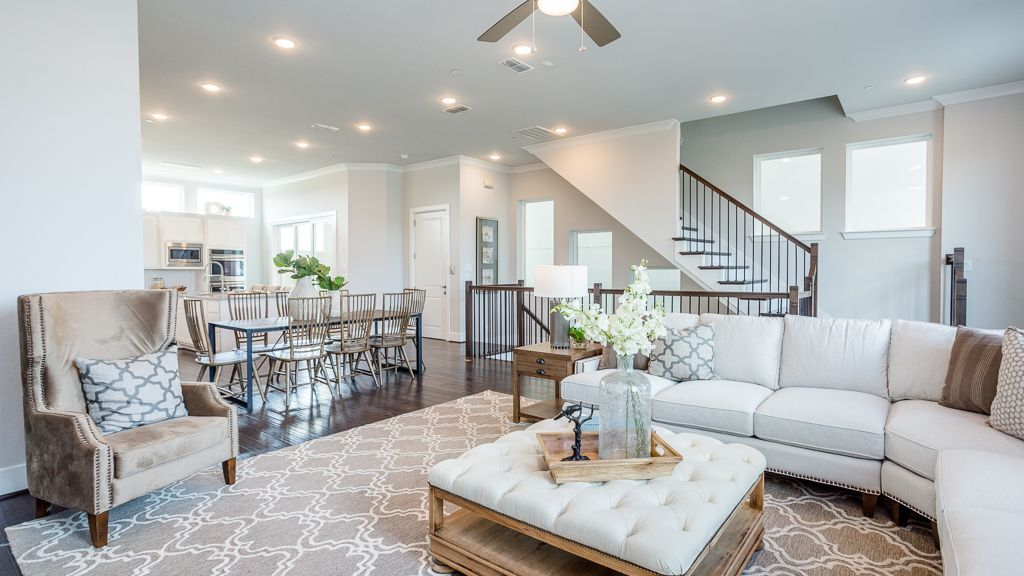Living Area featured in the 1362 - 4 Story By Darling  Homes in Houston, TX
