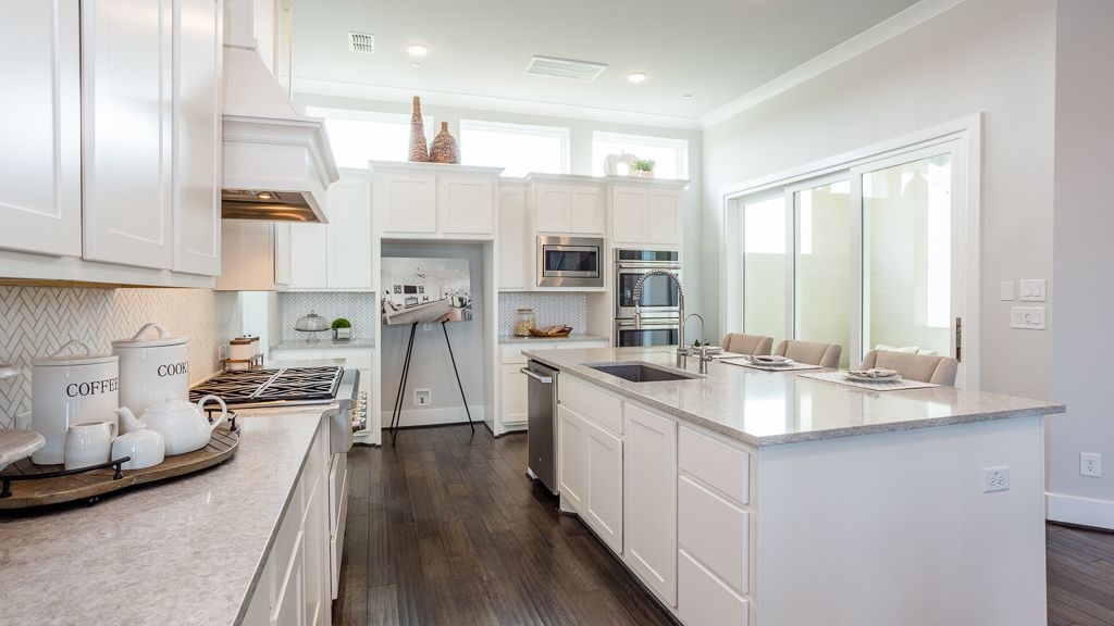 Kitchen featured in the 1362 - 4 Story By Darling  Homes in Houston, TX