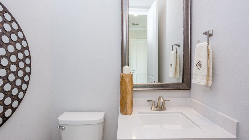 Bathroom featured in the 1362 - 4 Story By Darling  Homes in Houston, TX