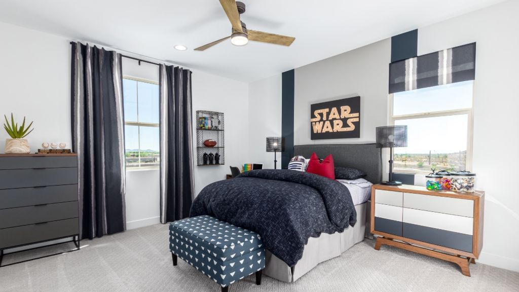 Bedroom featured in the Jasmine By Taylor Morrison in Phoenix-Mesa, AZ