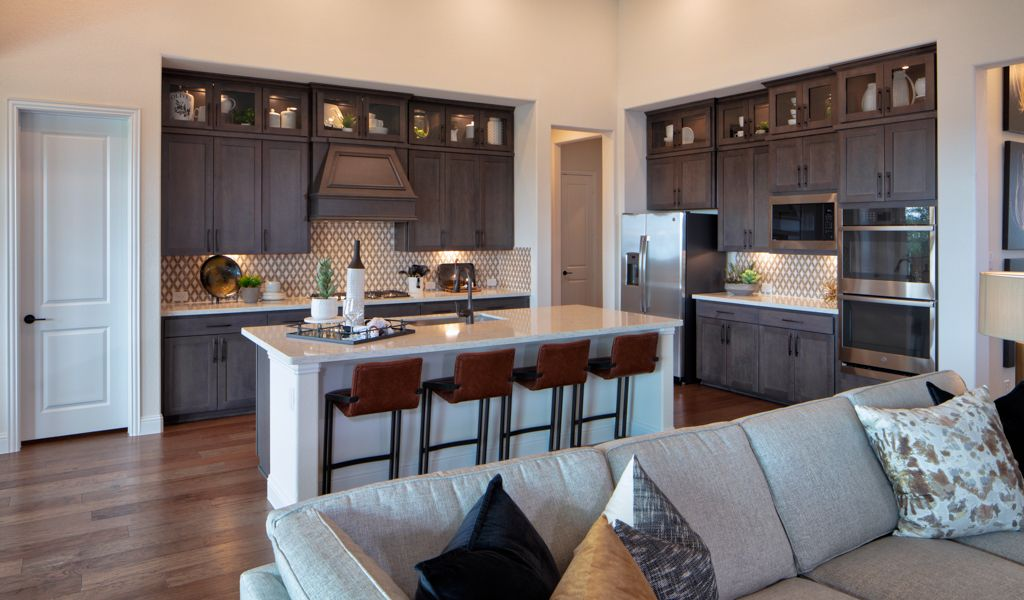 Kitchen featured in the Courtney By Taylor Morrison in Fort Worth, TX