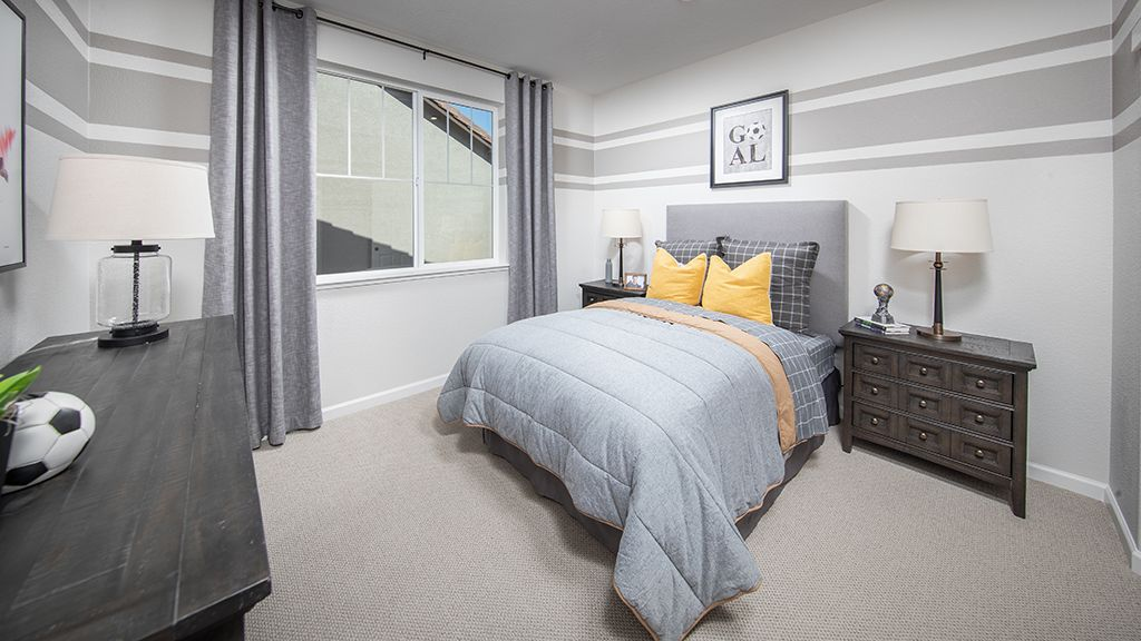 Bedroom featured in the Plan 4 Skye Plan By Taylor Morrison in Sacramento, CA