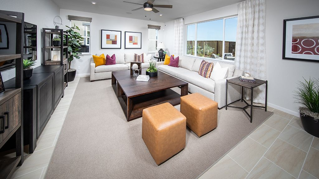 Living Area featured in the Plan 4 Skye Plan By Taylor Morrison in Sacramento, CA