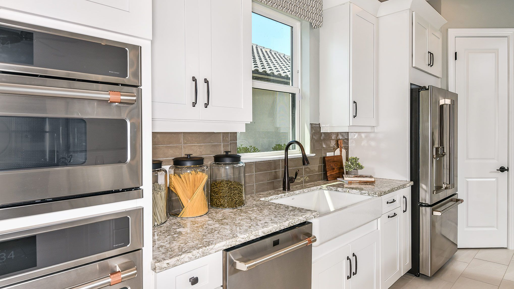 Kitchen featured in the Lazio By Taylor Morrison in Naples, FL