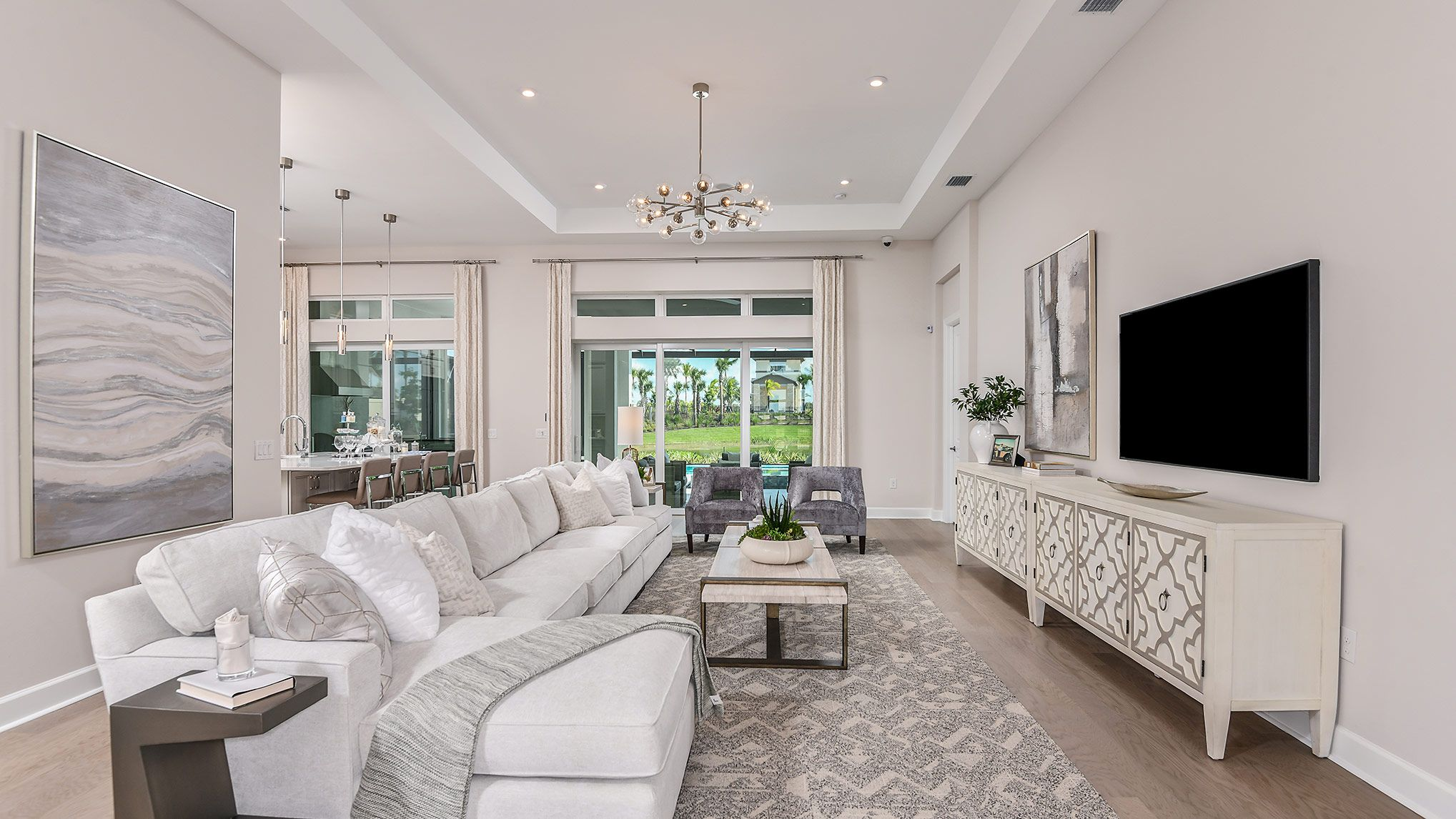 Living Area featured in the Lincoln By Taylor Morrison in Naples, FL