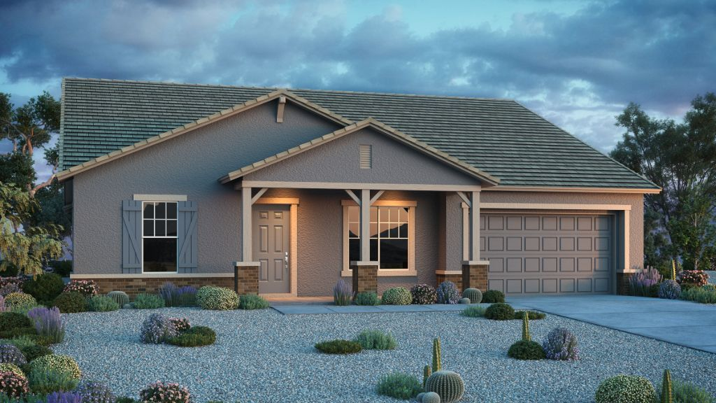 Exterior featured in the Breckenridge By Taylor Morrison in Phoenix-Mesa, AZ