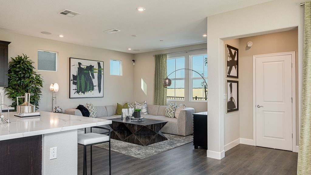 Living Area featured in the Residence 3 By Taylor Morrison in Oakland-Alameda, CA