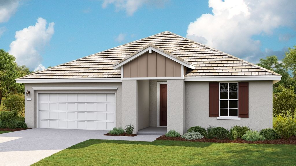 Exterior featured in the Avery Plan 1 By Taylor Morrison in Sacramento, CA