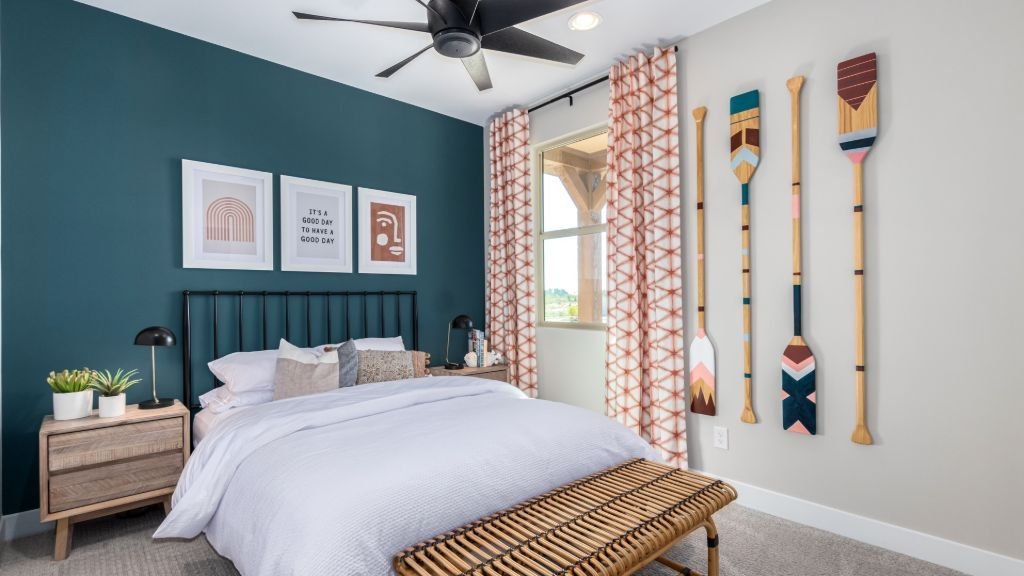 Bedroom featured in the Plan 4515 By Taylor Morrison in Phoenix-Mesa, AZ