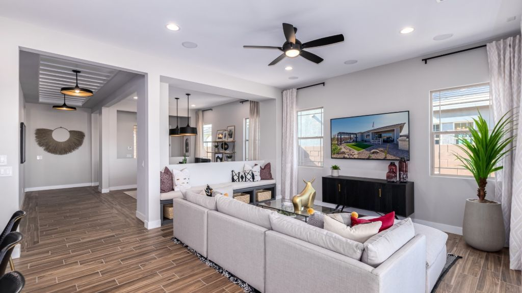 Living Area featured in the Windsor By Taylor Morrison in Phoenix-Mesa, AZ