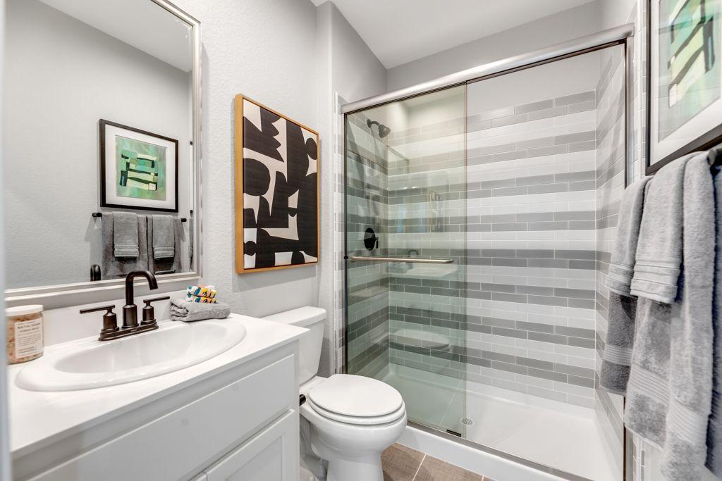 Bathroom featured in the Secretariat Plan 6 By Taylor Morrison in Sacramento, CA
