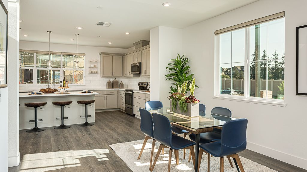Kitchen featured in the Plan 3 By Taylor Morrison in Oakland-Alameda, CA