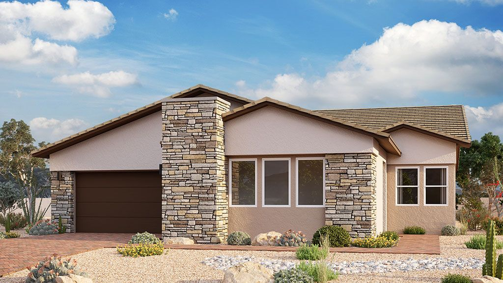 Exterior featured in the Poppy By Taylor Morrison in Las Vegas, NV
