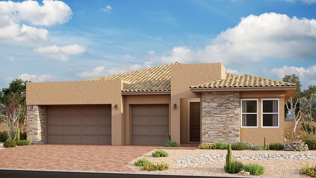 Exterior featured in the Tulip By Taylor Morrison in Las Vegas, NV