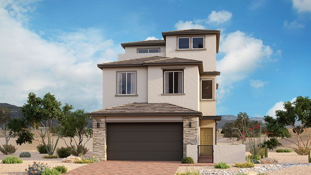 Exterior featured in the Acacia Plus By Taylor Morrison in Las Vegas, NV