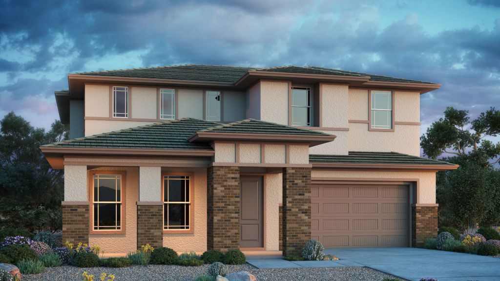 Exterior featured in the Lewiston By Taylor Morrison in Phoenix-Mesa, AZ