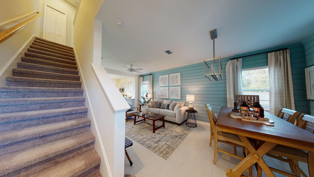 Living Area featured in the Malta By Taylor Morrison in Jacksonville-St. Augustine, FL