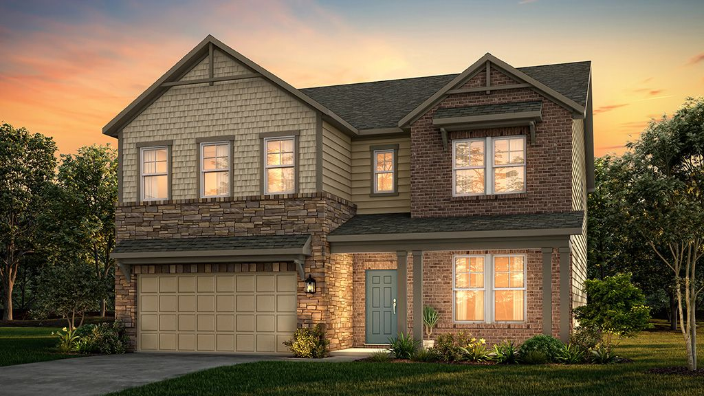 Exterior featured in the Sheridan By Taylor Morrison in Atlanta, GA