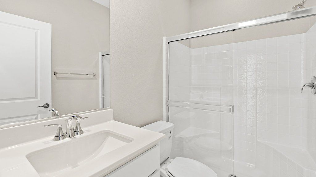 Bathroom featured in the 30 - Sequoia By Taylor Morrison in Las Vegas, NV