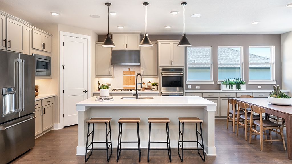 Kitchen featured in the Garnet By Taylor Morrison in Austin, TX